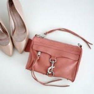 REBECCA MINKOFF Mini Mac Pink Crossbody Bag